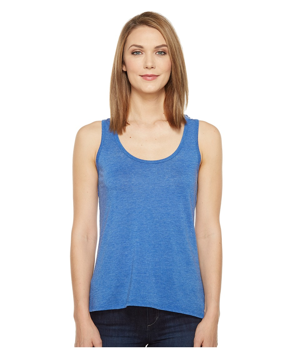 Rock and Roll Cowgirl - Knit Tank Top 49-1192 (Royal) Women's Sleeveless
