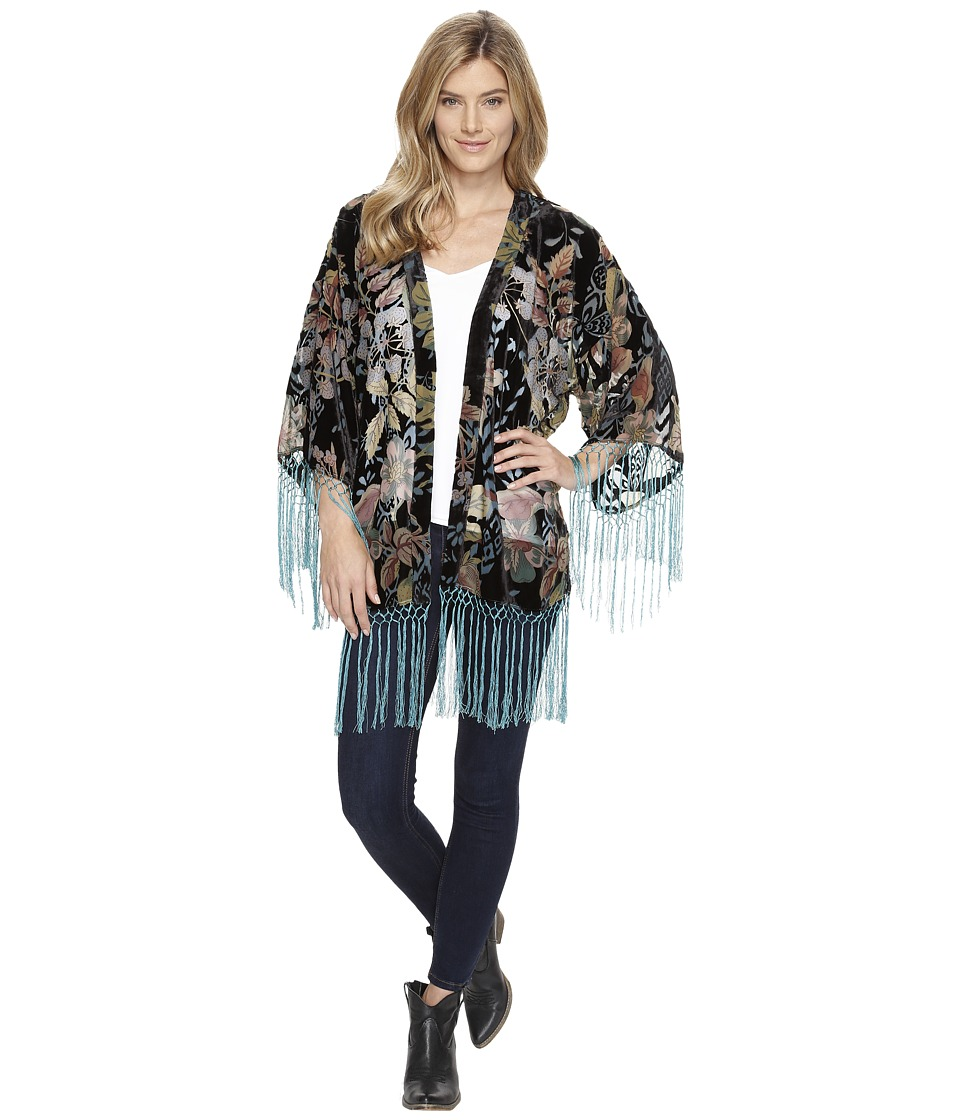 Double D Ranchwear - Madame Butterfly Kimono (Multi) Women's Clothing
