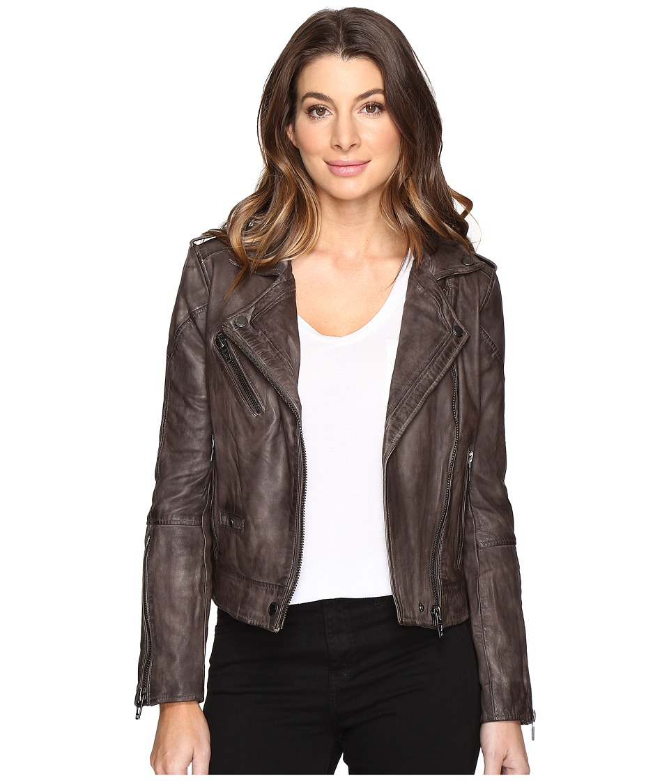 Blank NYC - Real Leather Moto Jacket (Last Minute) Women's Coat