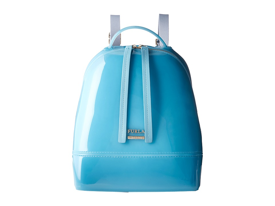 Furla - Candy Small Backpack (Turchese) Backpack Bags