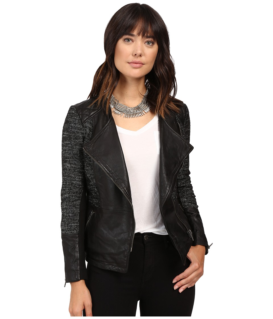 Lucky Brand - Moto Jacket (Black Beauty) Women's Coat