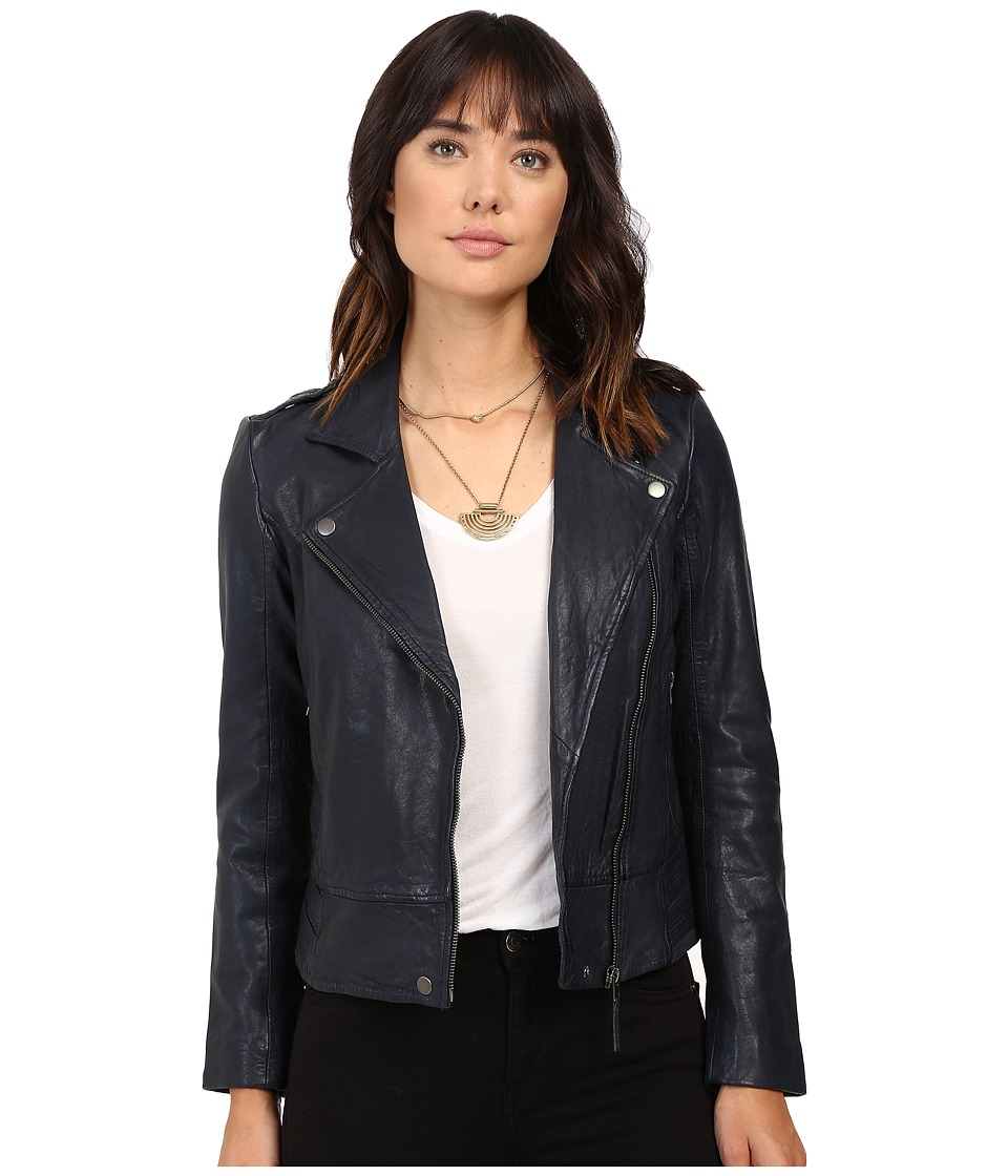 Lucky Brand - Major Moto Jacket (American Navy) Women's Coat