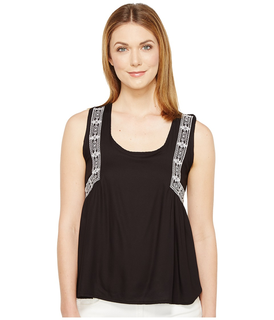 Rock and Roll Cowgirl - Sleeveless Tank Top B5-1283 (Black) Women's Sleeveless