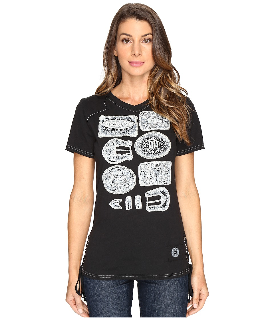 Double D Ranchwear - Winning! Tee (Black) Women's T Shirt