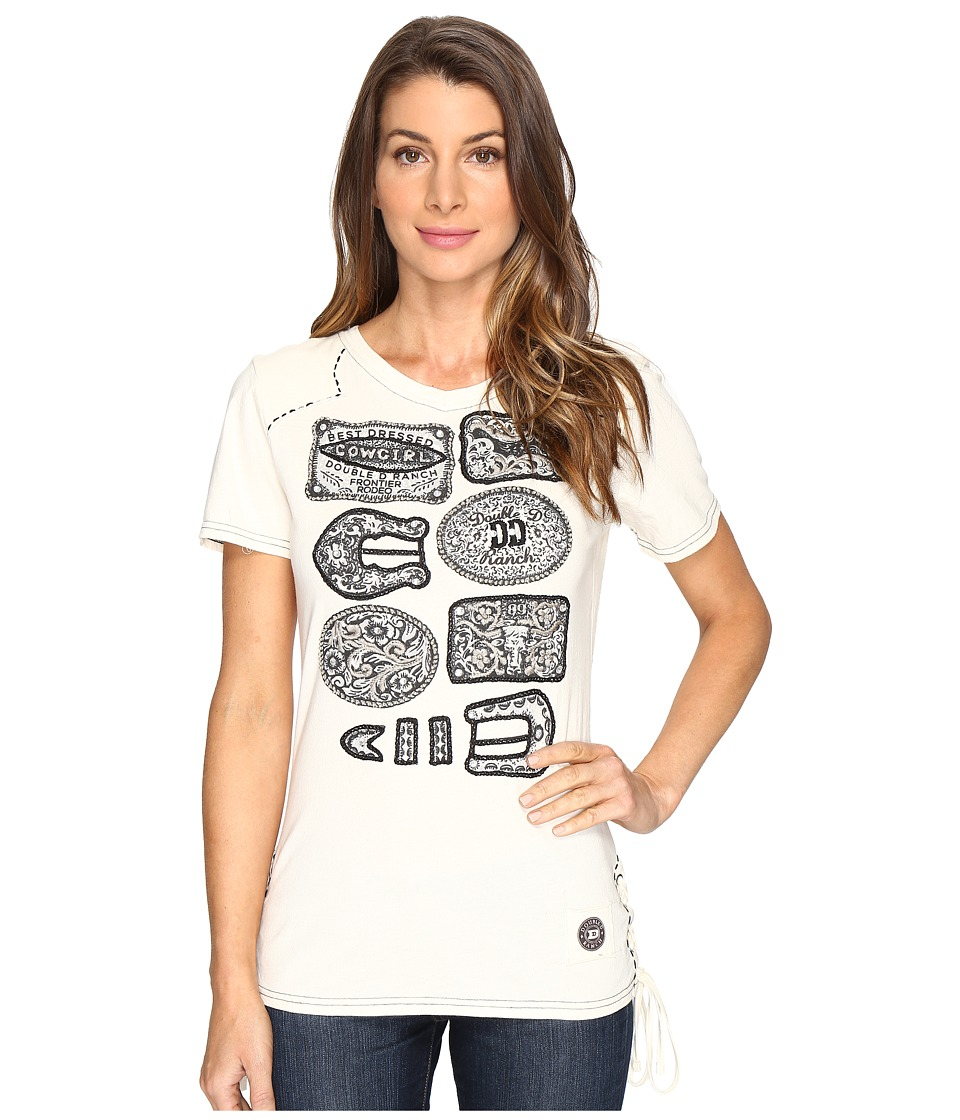 Double D Ranchwear - Winning! Tee (String) Women's T Shirt