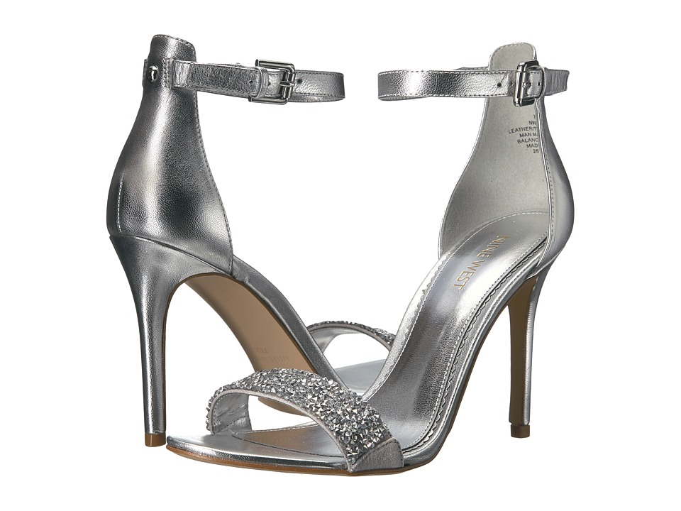 Nine West - Mana 11 (Silver Metallic) Women's Shoes