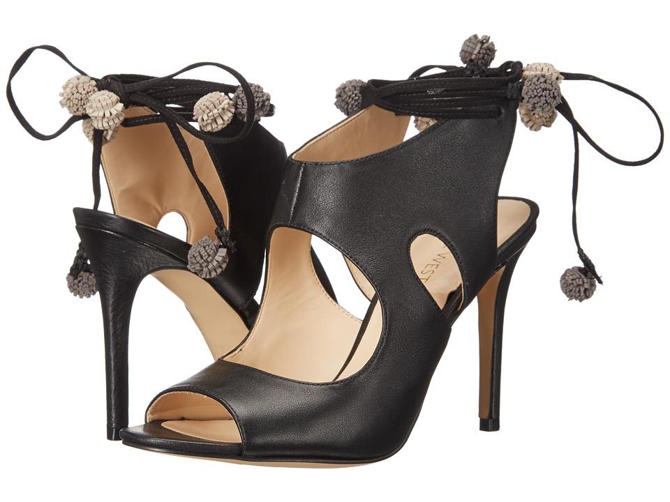 Nine West - Maya (Black Leather) Women's Shoes