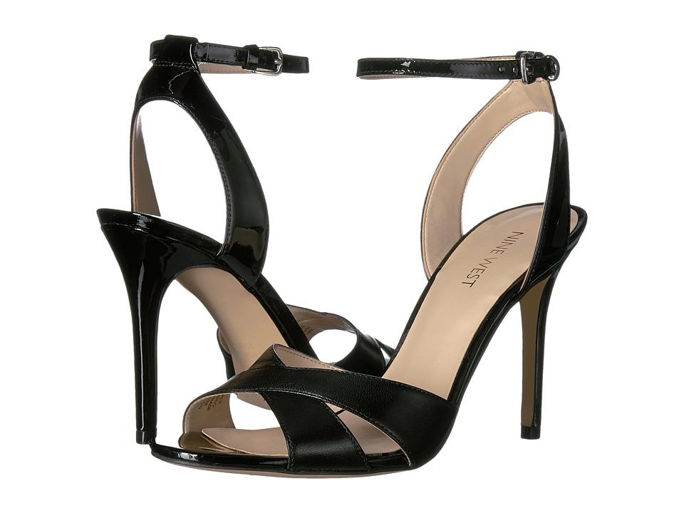 Nine West - Mooch (Black Leather) Women's Shoes