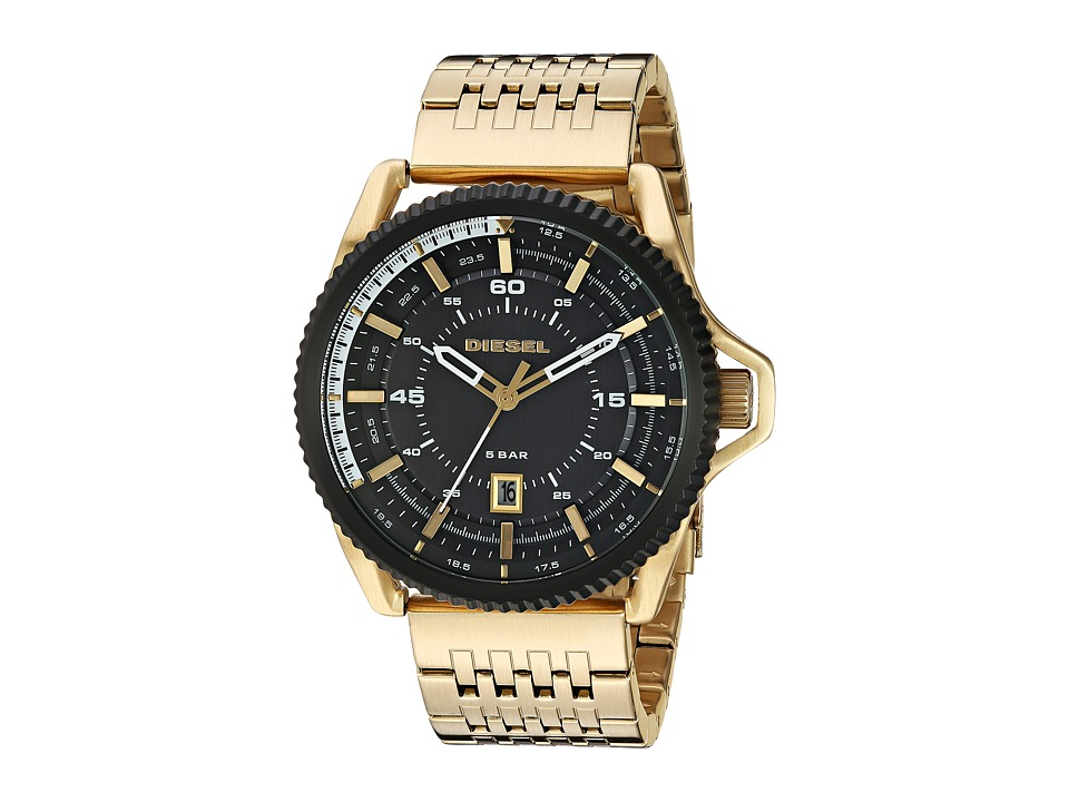 Diesel - Rollcage - DZ1789 (Gold) Watches