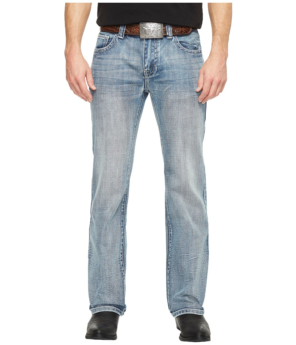 Rock and Roll Cowboy - Pistol Straight Leg in Dark Vintage M1P1456 (Dark Vintage) Men's Jeans