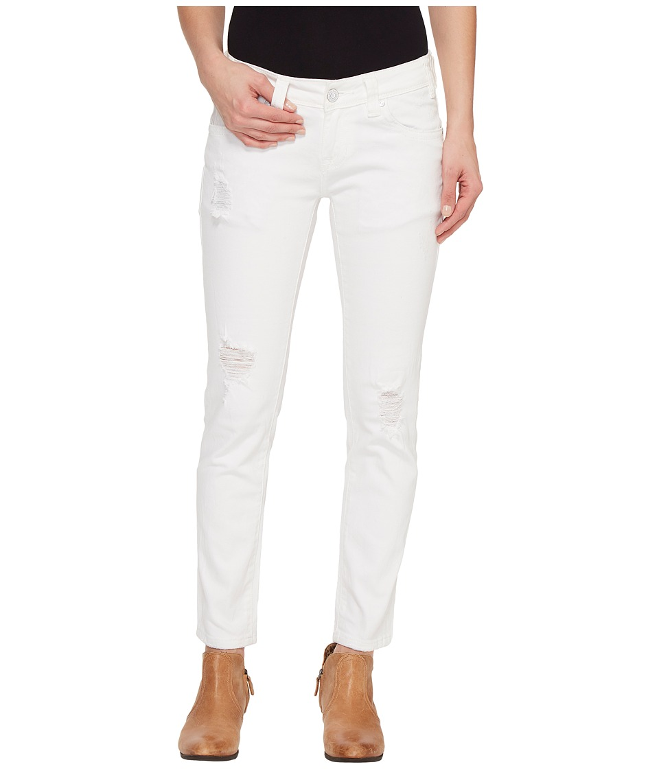 Rock and Roll Cowgirl - Low Rise Skinny in White W0C1402 (White) Women's Jeans