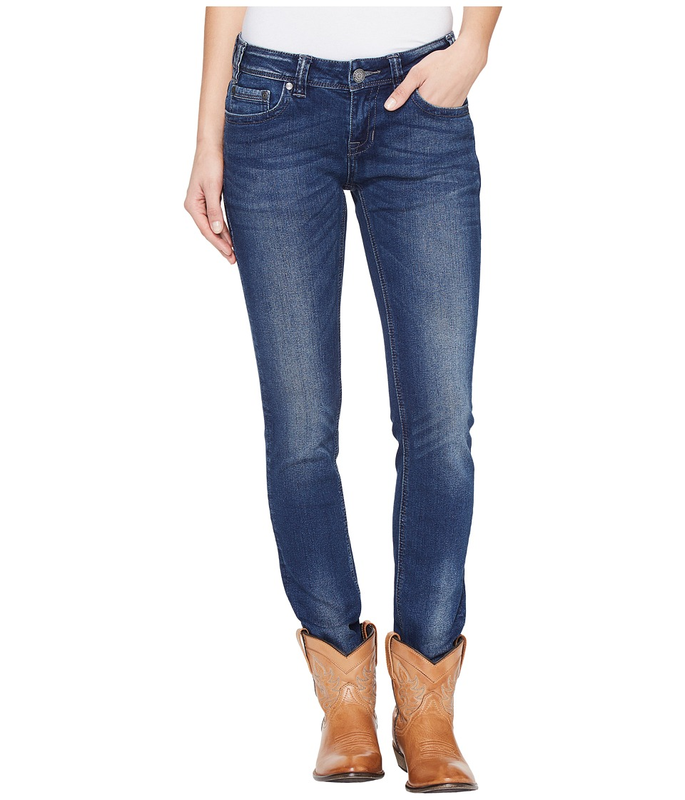 Rock and Roll Cowgirl - Low Rise Skinny in Dark Vintage W0S1376 (Dark Vintage) Women's Jeans