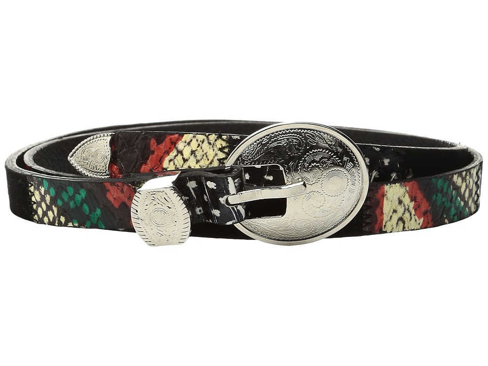 Rachel Comey - Primrose Belt (Red/Green Snake) Women's Belts