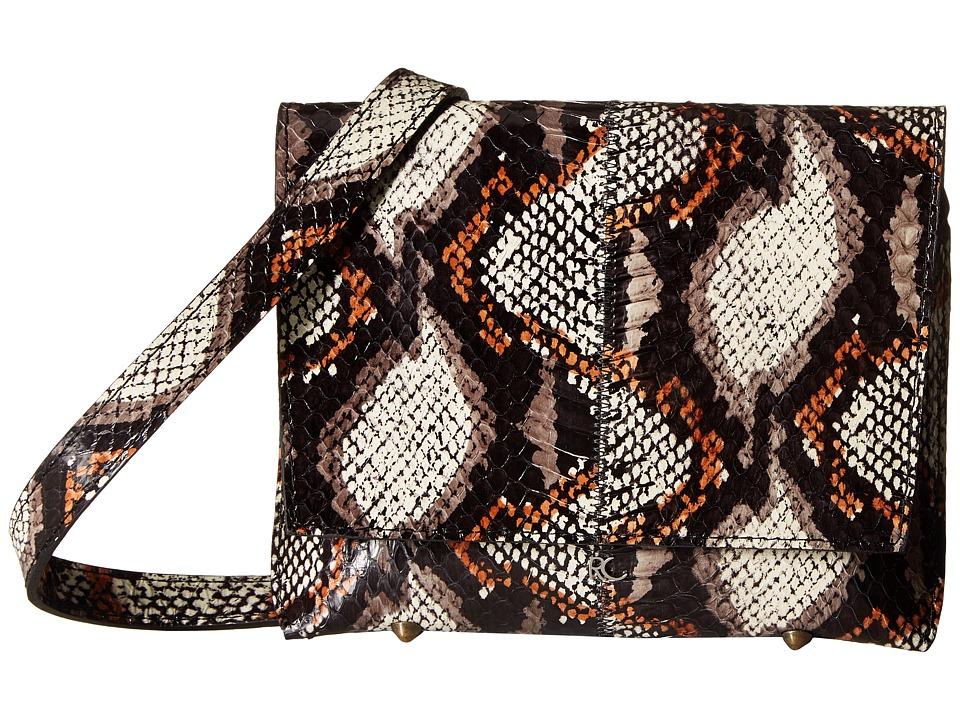 Rachel Comey - Clue (Brown/Black Snake) Handbags