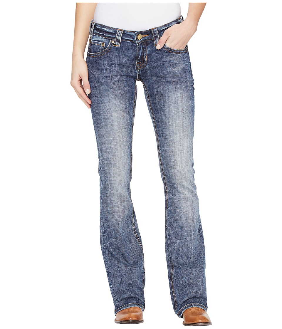 Rock and Roll Cowgirl - Rival Bootcut in Dark Vintage W6-1380 (Dark Vintage) Women's Jeans