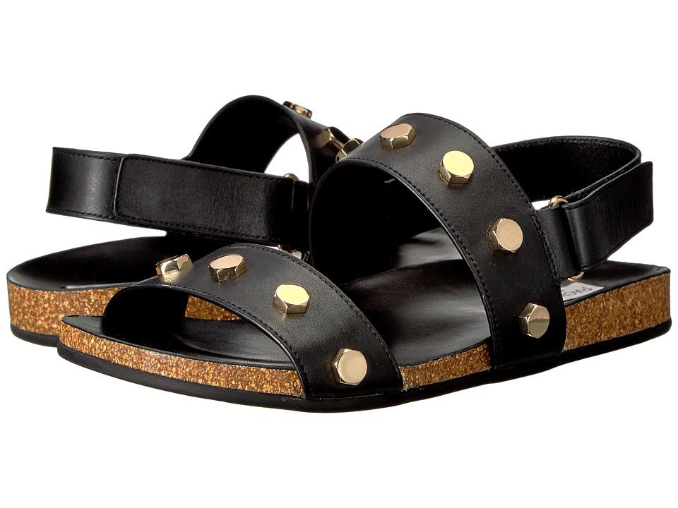 Rachel Zoe - Pia (Black Vachetta) Women's Sandals