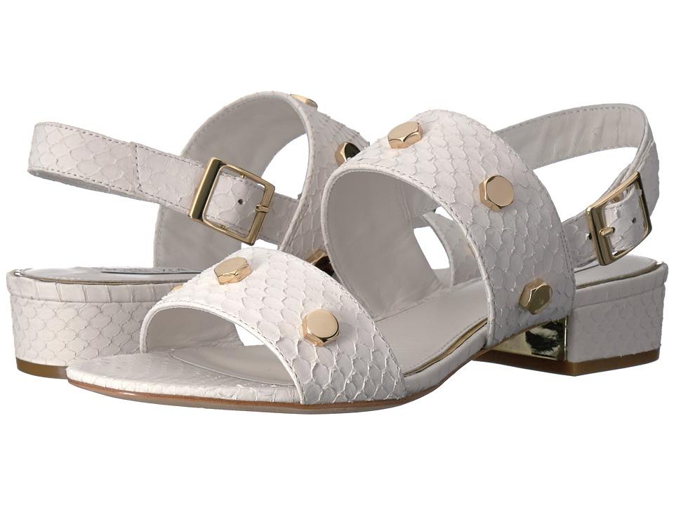 Rachel Zoe - Florence (White Matte Snake) Women's Sandals