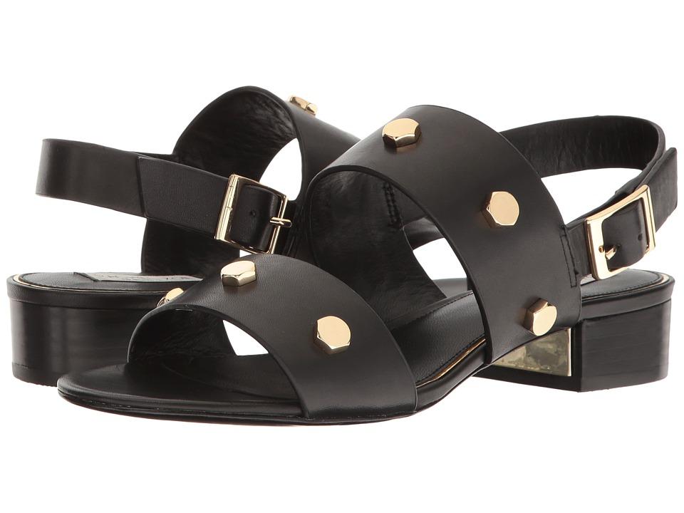 Rachel Zoe - Florence (Black Vachetta) Women's Sandals