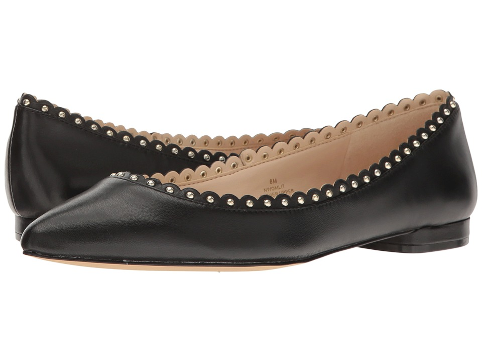 Nine West - Omlit (Black Leather) Women's Shoes