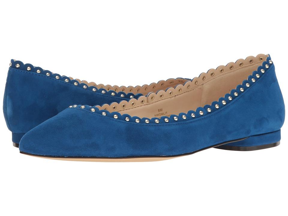 Nine West - Omlit (Blue Suede) Women's Shoes