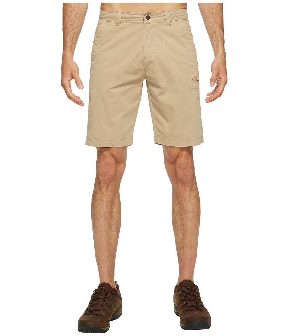 Jack Wolfskin - Drake Shorts (Sand Dune) Men's Shorts