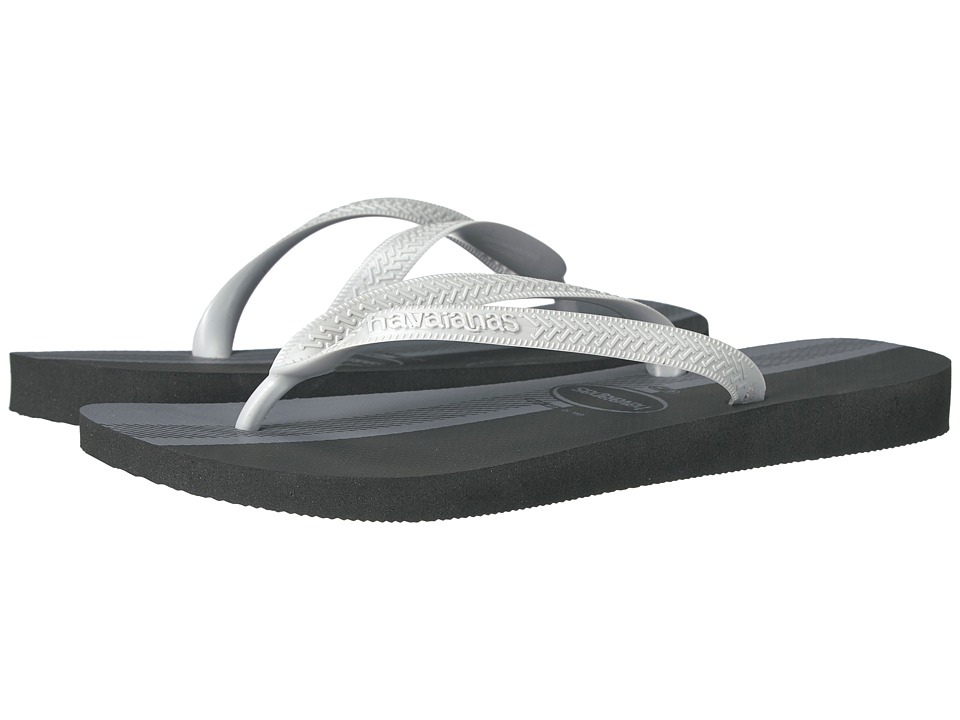 Havaianas - Top Conceitos Flip-Flops (Black/Ice Grey) Men's Sandals