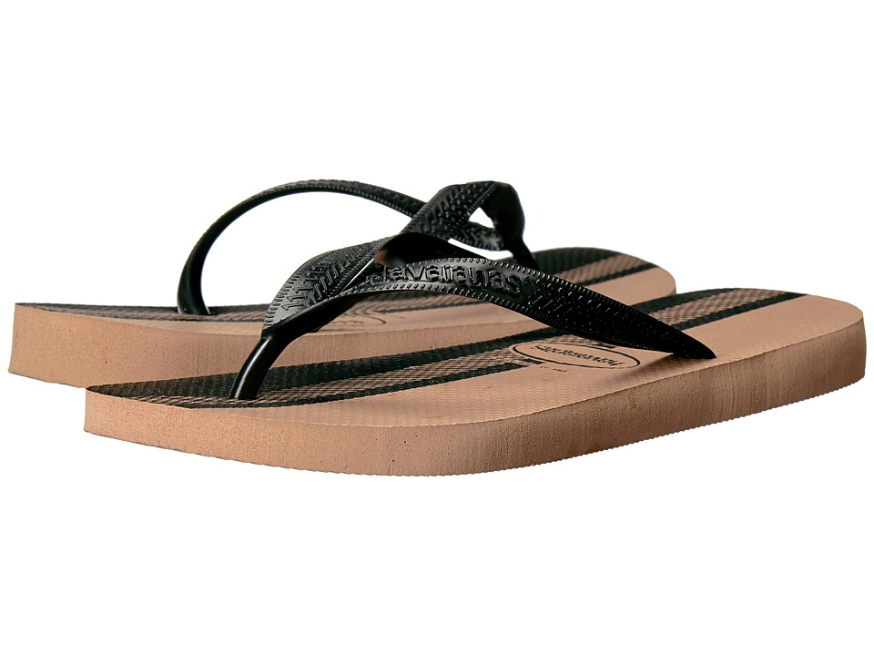 Havaianas - Top Conceitos Flip-Flops (Rose Gold/Black) Men's Sandals