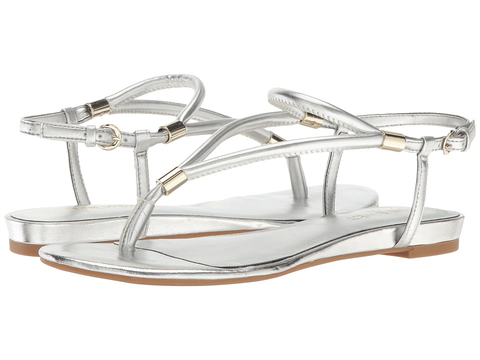 Nine West - Rivers 3 (Silver Synthetic) Women's Shoes