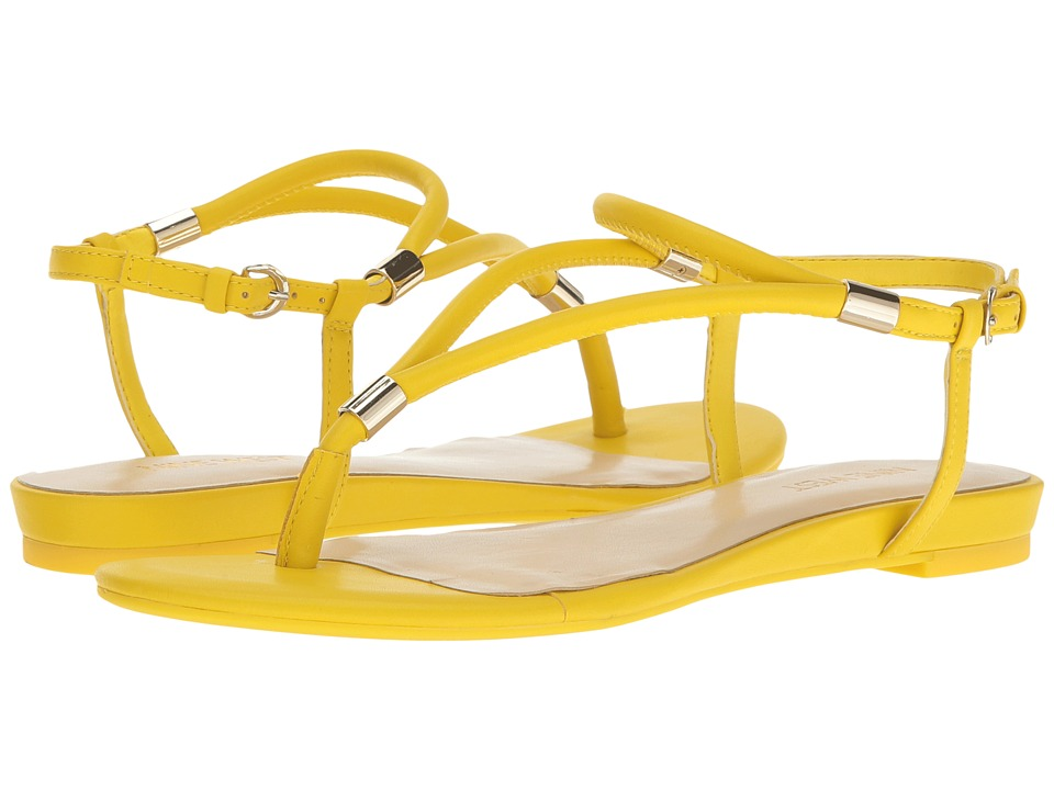 Nine West - Rivers 3 (Yellow Synthetic) Women's Shoes