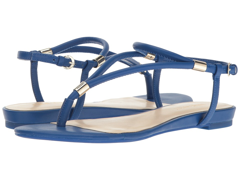 Nine West - Rivers 3 (Blue Synthetic) Women's Shoes