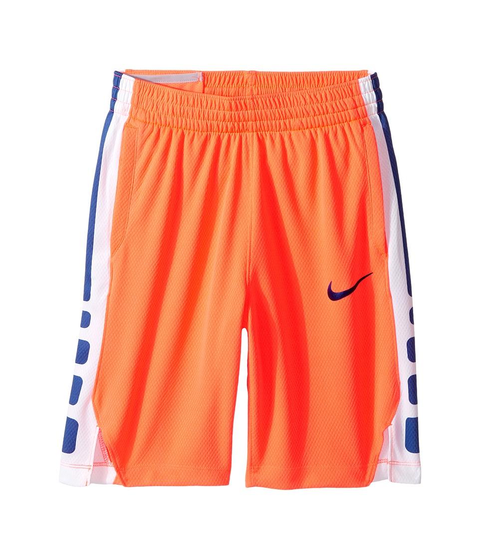 Nike Kids - Dry Elite Basketball Short (Little Kids/Big Kids) (Hyper Orange/Hyper Orange/Deep Night) Boy's Shorts