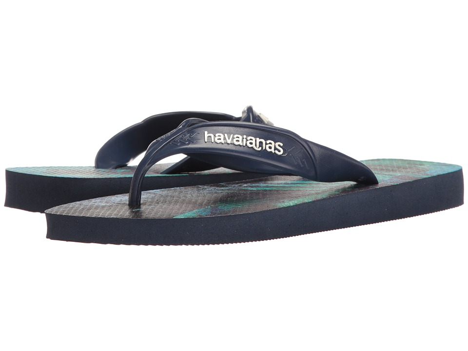 Havaianas - Surf Flip Flops (Navy Blue/Navy Blue) Men's Sandals
