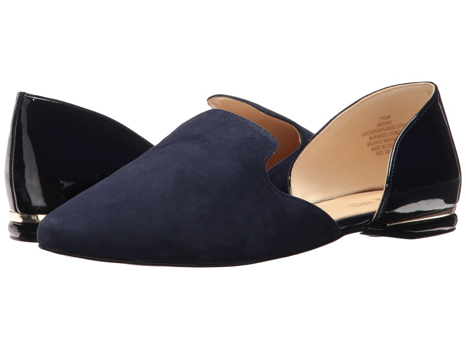 Nine West Shay (Navy Suede) High Heels