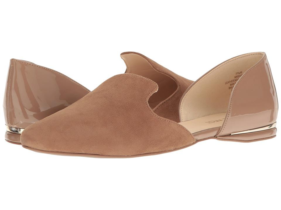 Nine West - Shay (Natural Suede) High Heels