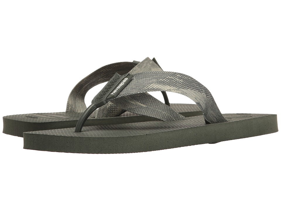 Havaianas - Urban Series Flip Flops (Green Olive) Men's Sandals