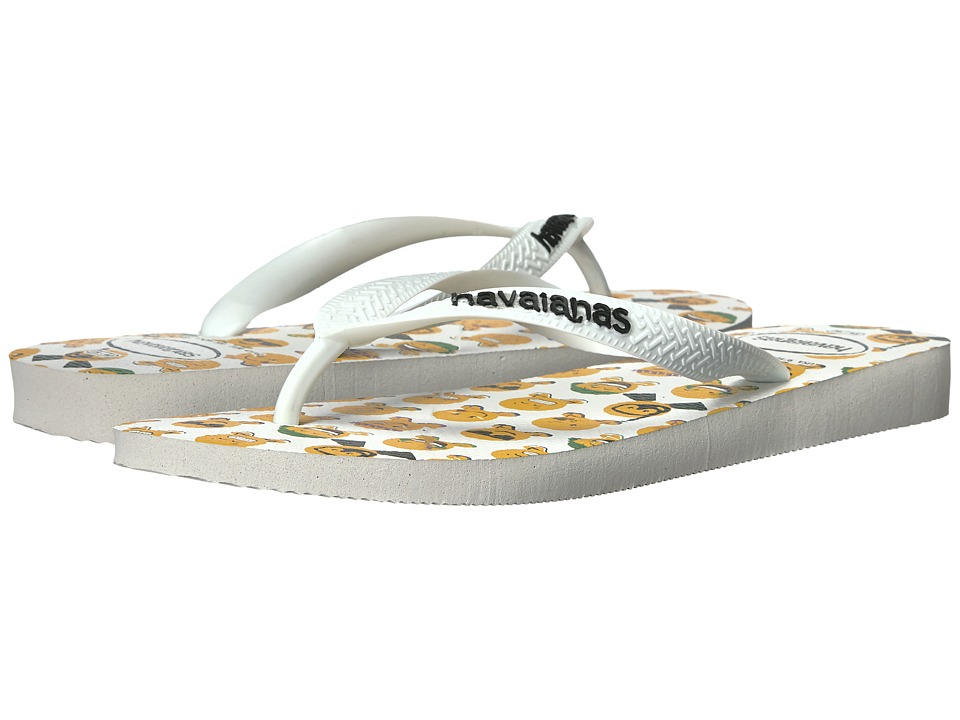Havaianas - Mood Flip-Flops (White/White) Women's Sandals