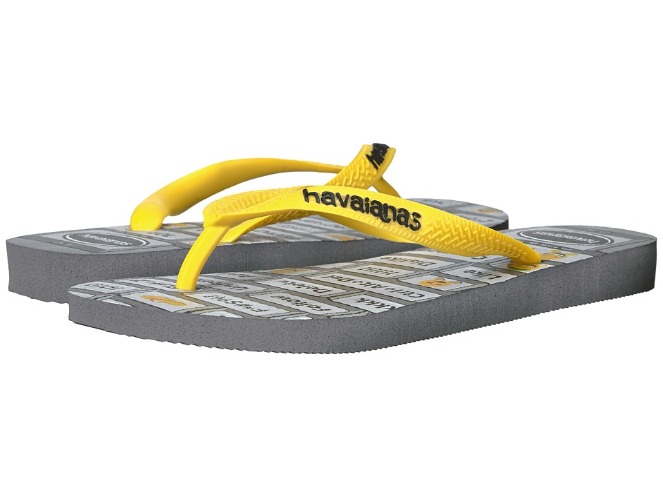 Havaianas - Mood Flip-Flops (Grey/Yellow) Women's Sandals