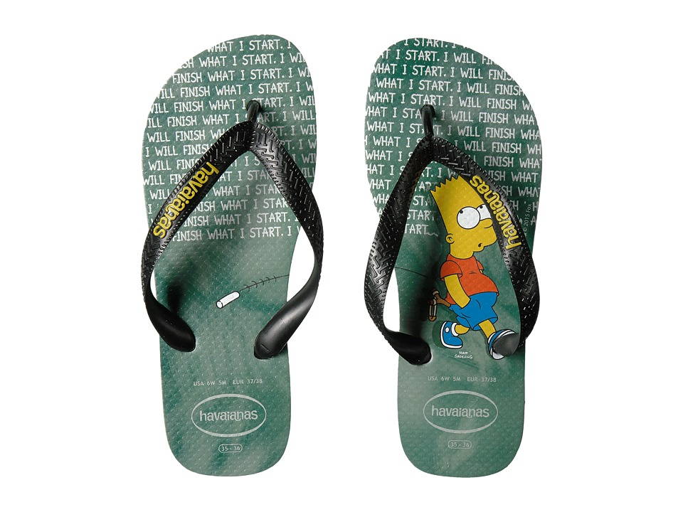Havaianas - Simpsons Flip-Flops (Ice Grey) Women's Sandals