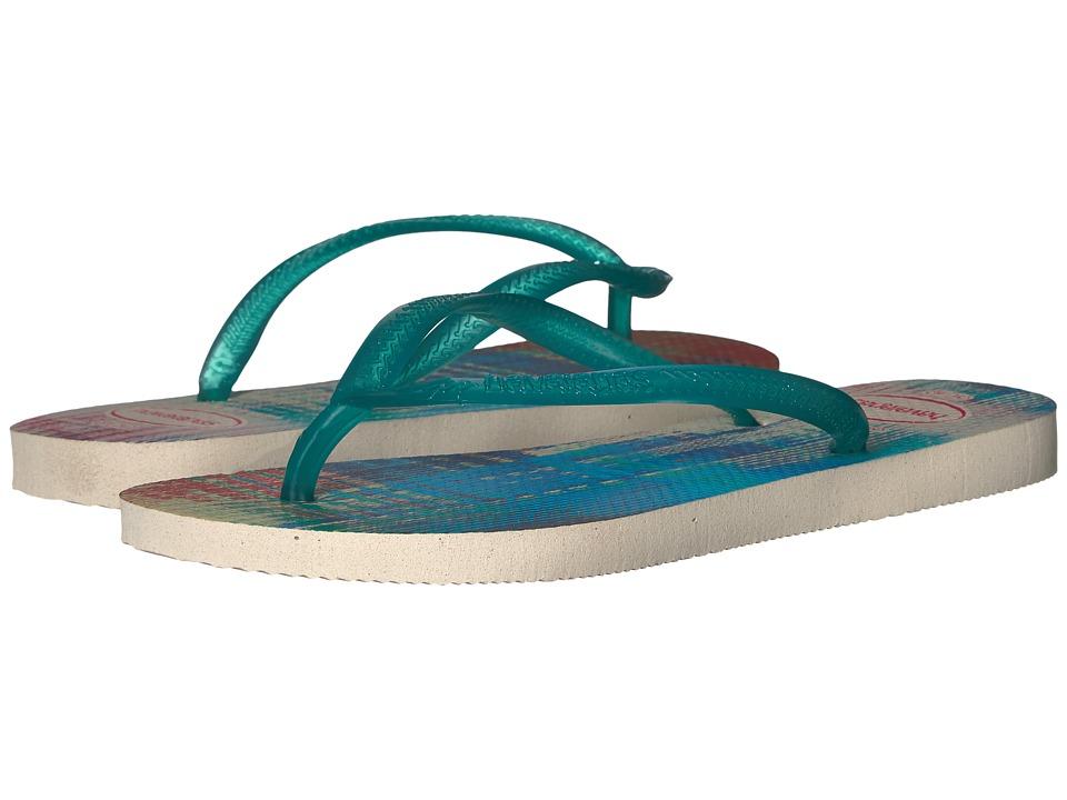 Havaianas - Slim Beats Flip-Flops (Beige) Women's Sandals