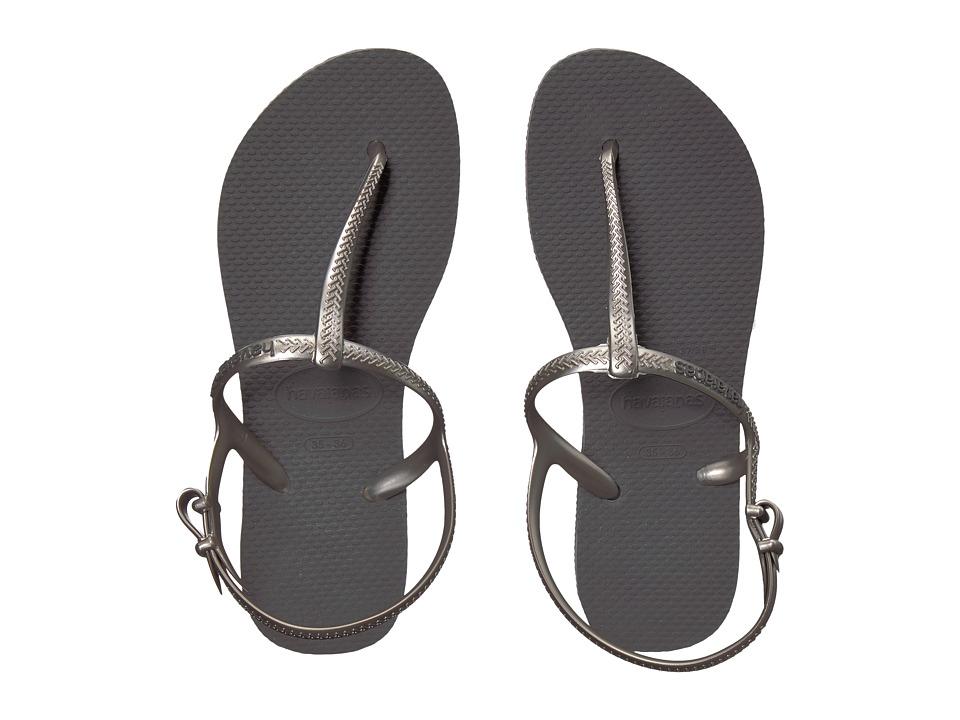 Havaianas - Freedom SL Flip-Flops (Grey) Women's Sandals