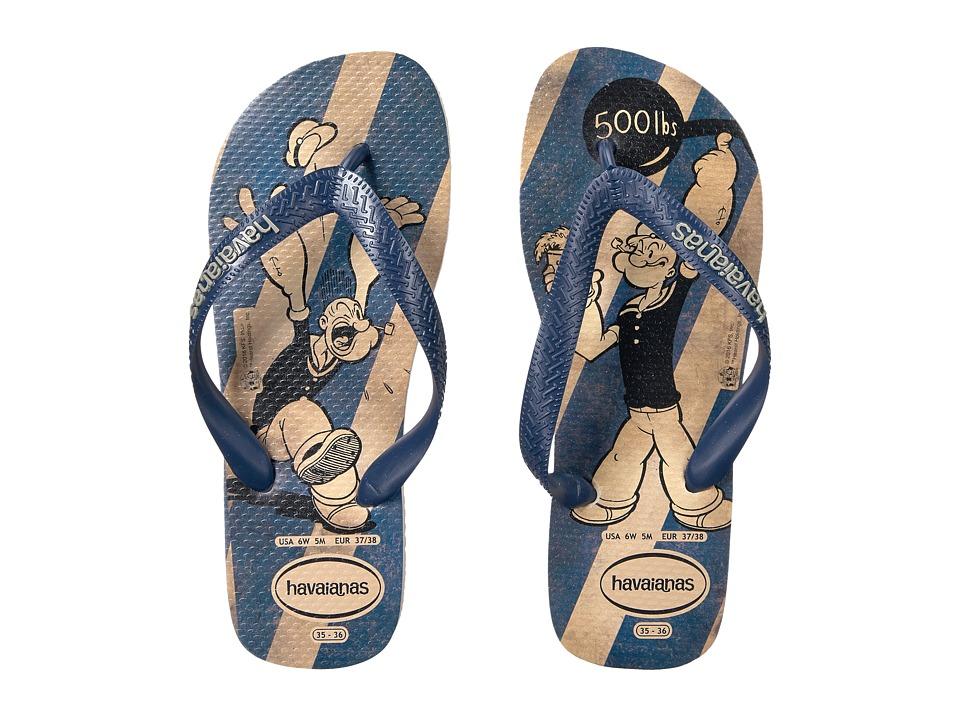 Havaianas - Popeye Flip-Flops (Beige) Women's Sandals