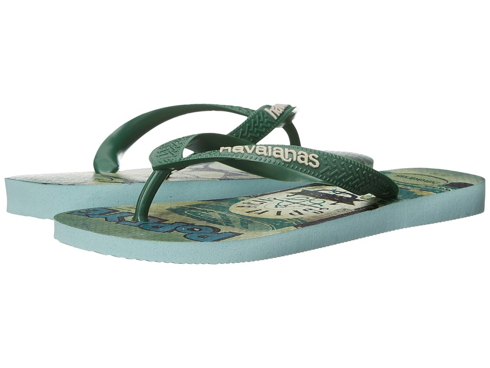 Havaianas - Popeye Flip-Flops (Mentha Green) Women's Sandals