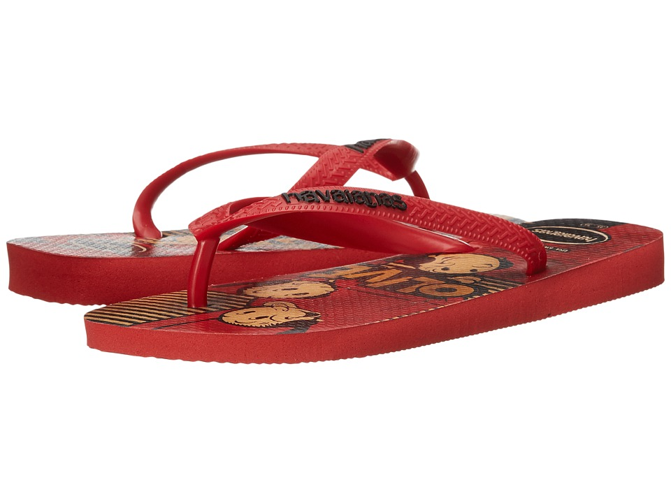 Havaianas Popeye Flip-Flops (Ruby Red) Women