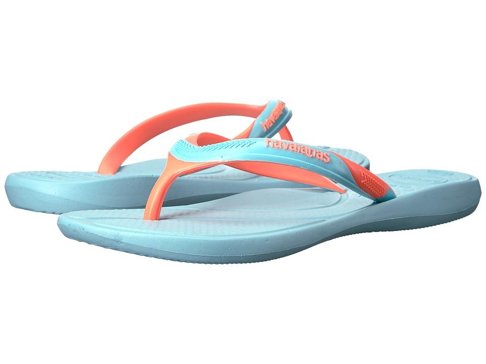 Havaianas - Atena Flip-Flops (Ice Blue) Women's Sandals