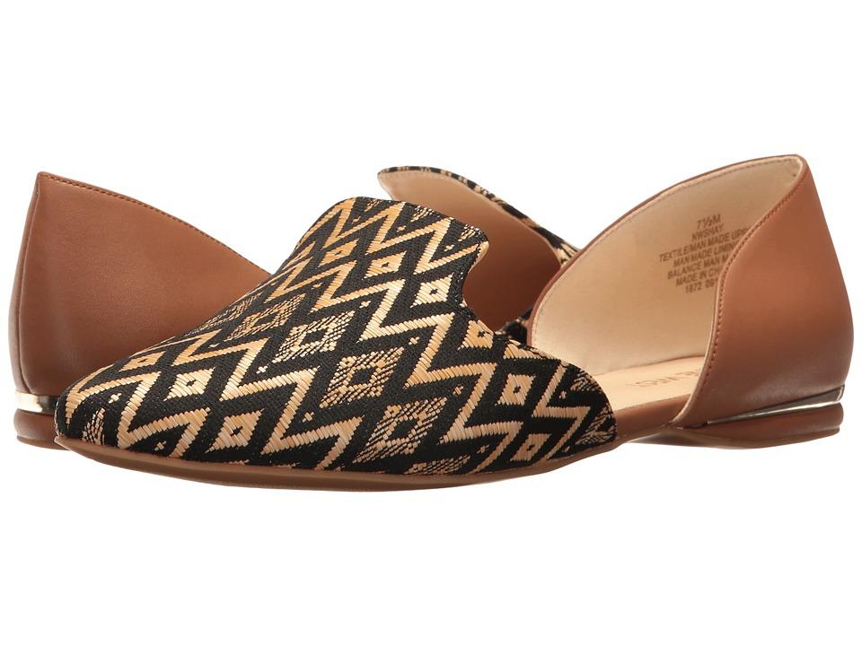 Nine West - Shay (Natural/Dark Natural Fabric) High Heels