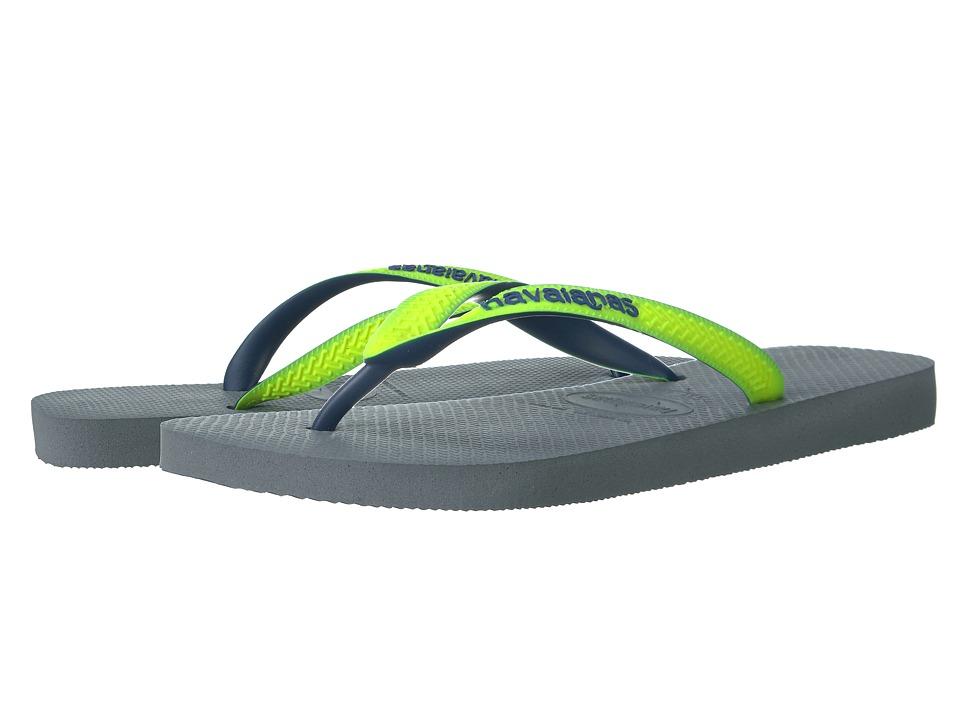 Havaianas - Top Mix Flip Flops (Steel Grey 1) Men's Sandals