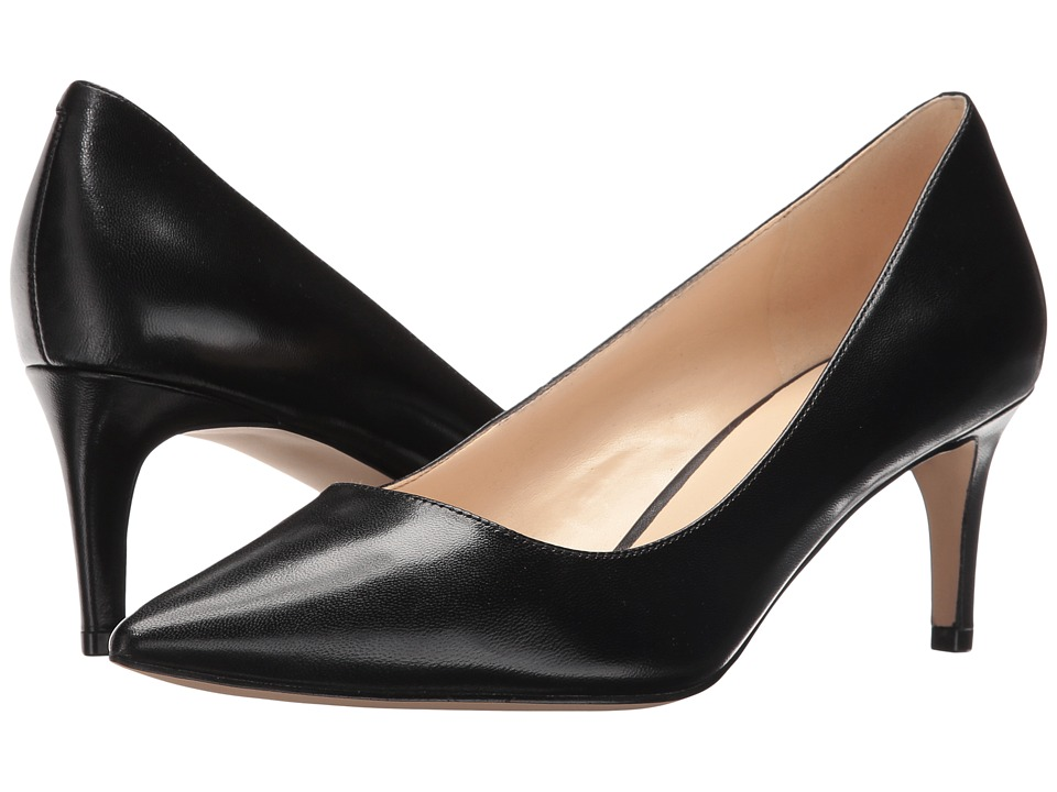 Nine West - Smith (Black Leather) Women's Shoes