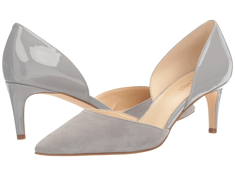 Nine West - Solis (Grey Patent) High Heels
