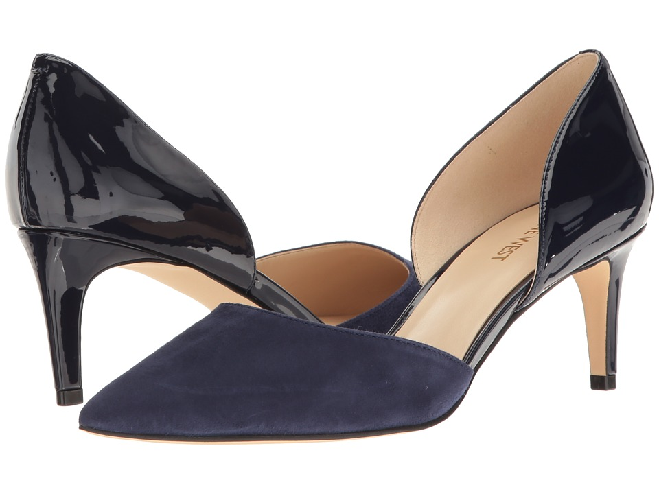 Nine West - Solis (Navy Patent) High Heels