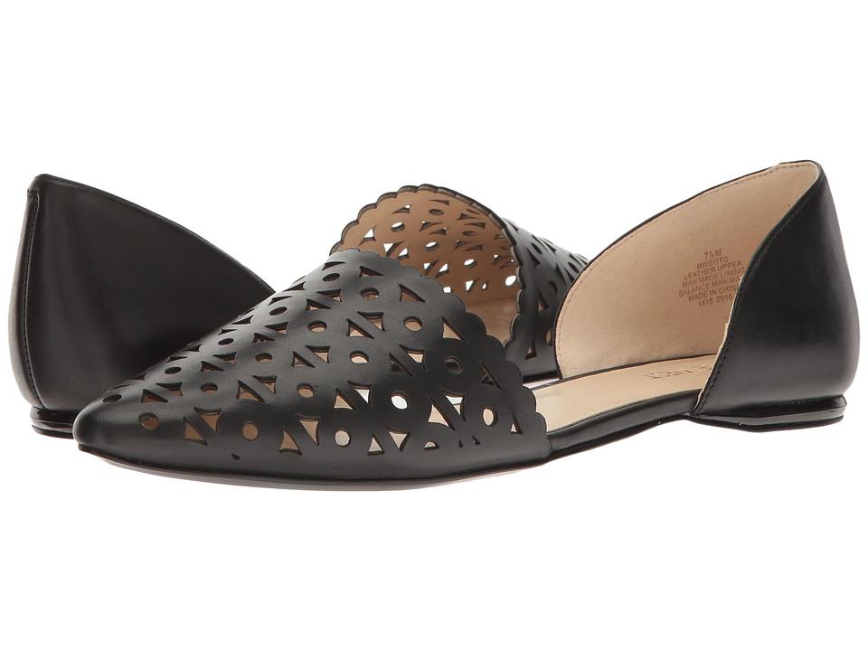 Nine West - Soto (Black Leather) Women's Shoes